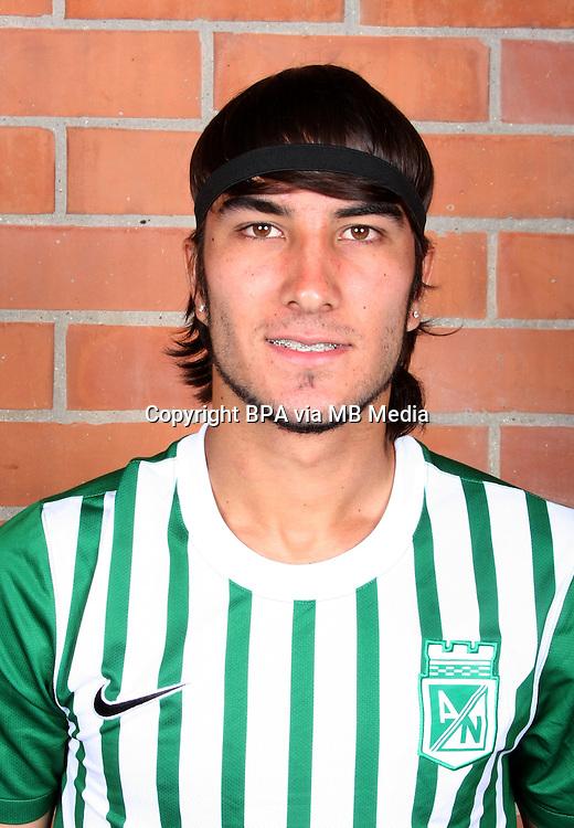 Colombia League - Postobom Liga 2014-2015 -<br /> Club Atletico Nacional Medellin - Colombia / <br /> Sebastian Perez