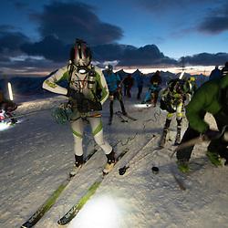 Patrouille des Glacier 2012<br /> Impressionen auf der Tete Blanche während der 2012 PDG<br /> <br />  <br /> <br /> Region, Europe, Switzerland, Arolla, Tete Blanche 3700müM