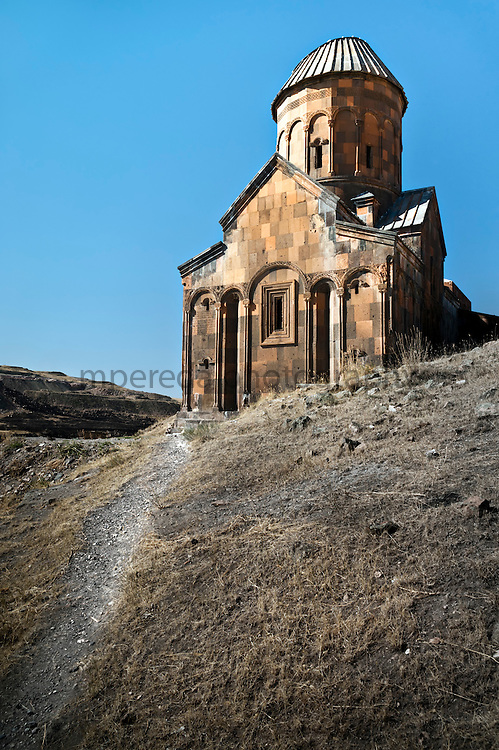 Ruins of Ani, the old Armenian capital.
