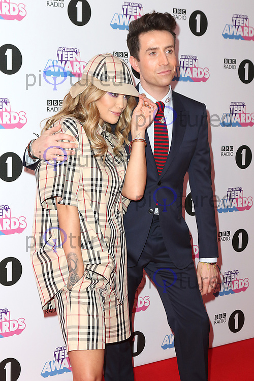Rita Ora, Nick Grimshaw, Radio 1 Teen Awards, SSE Arena Wembley, London UK, 22 October 2017, Photo by Richard Goldschmidt