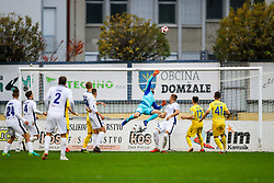 Ajdin Mulalic of NK Domzale during football match between NK Domzale and ND Gorica in 14th Round of Prva liga Telekom Slovenije 2018/19, on November 7, 2018 in Sportni Park, Domzale, Slovenia. Photo by Matic Klansek Velej / Sportida