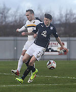 Nicky Riley and Chris Turner - Dumbarton v Dundee  - SPFL Championship at the Bet Butler Stadium<br /> <br />  - &copy; David Young - www.davidyoungphoto.co.uk - email: davidyoungphoto@gmail.com