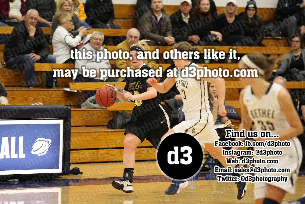 NCAA Div. III Women's Basketball<br /> Bethel vs. Gustavus