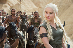 RELEASE DATE: April 24, 2016 season 6 TITLE: Game of Thrones STUDIO: HBO DIRECTOR: PLOT: In the mythical continent of Westeros, several powerful families fight for control of the Seven Kingdoms. As conflict erupts in the kingdoms of men, an ancient enemy rises once again to threaten them all. Meanwhile, the last heirs of a recently usurped dynasty plot to take back their homeland from across the Narrow Sea. STARRING: EMILIA CLARKE. (Credit Image: © HBO/Entertainment Pictures/ZUMAPRESS.com)