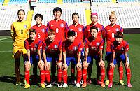 Fifa Womans World Cup Canada 2015 - Preview //<br /> Cyprus Cup 2015 Tournament ( Gsp Stadium Nicosia - Cyprus ) - <br /> South Korea vs Italy 1-2 , South Korea Team Group - From the Left Up :<br /> Kim Jungmi ,Kim Doyeon ,Park Eunseon ,Song Suran ,Shim Seoyeon ,Cho Sohyun // <br /> Yoo Younga ,Jung Seolbin ,Lee Sodam ,Kim Hyeri ,Ji Soyun