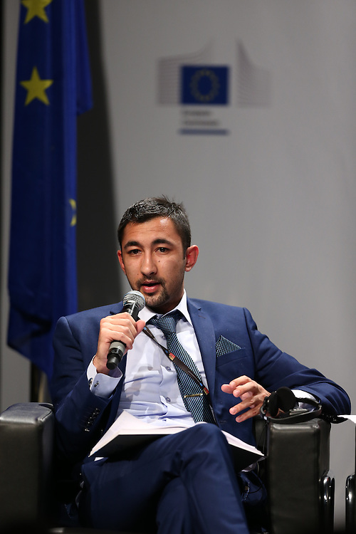 03 June 2015 - Belgium - Brussels - European Development Days - EDD - Special Event - A more connected , contested and complex world is in your hands - A conversation with Federica Mogherini and Sam Kutesa - Daniel Mihajlovski , Future Leader © European Union