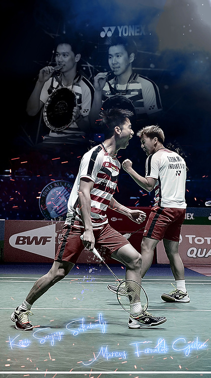 Marcus Gideon, Kevin Sukamuljo, Indonesian, All England Men's Doubles Champions