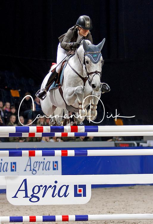 Baryard-Johnsson Malin, (SWE), Corporal Vdl<br /> Swedish International Horse Show 2015<br /> © Hippo Foto - Peter Zachrisson