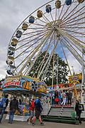 Ferris Wheel at Titisee, Neustadt, (Black forest Schwarzwald), Baden-Württemberg, Germany
