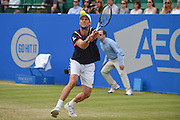 Andreas Seppi (ITA) during the semi-finals of Aegon Open at the Nottingham Tennis Centre, Nottingham, United Kingdom on 24 June 2016. Photo by Martin Cole.