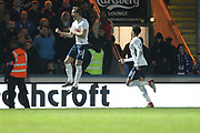 GOAL Harry Kane celebrates 1-2 during the The FA Cup match between Rochdale and Tottenham Hotspur at Spotland, Rochdale, England on 18 February 2018. Picture by Daniel Youngs.