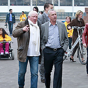 NLD/Amsterdam/20110314 - Presentatie nieuwe Helden en 14 jarig bestaan Johan Cruijff Foundation, Joop Kruis en Johan Cruijff