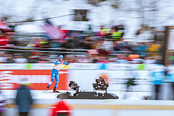 21.02.2019, Langlauf Arena, Seefeld, AUT, FIS Weltmeisterschaften Ski Nordisch, Seefeld 2019, Langlauf, Herren, Sprint, im Bild Federico Pellegrino (ITA) // Federico Pellegrino of Italy during the men's Sprint competition of the FIS Nordic Ski World Championships 2019. Langlauf Arena in Seefeld, Austria on 2019/02/21. EXPA Pictures © 2019, PhotoCredit: EXPA/ Dominik Angerer