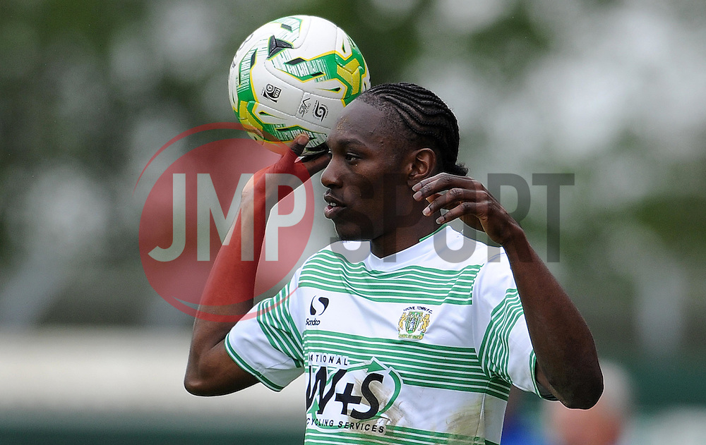 Yeovil Town's Nathan Smith - Photo mandatory by-line: Harry Trump/JMP - Mobile: 07966 386802 - 25/04/15 - SPORT - FOOTBALL - Sky Bet League One - Yeovil Town v Port Vale - Huish Park, Yeovil, England.