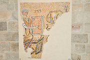 Israel, West Bank, The Good Samaritan Museum houses a collection of mosaics from the Holyland