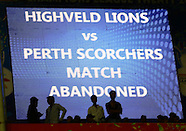 CLT20 2013 Match 4 - Highveld Lions v Perth Scorchers