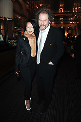 MIKE FIGGIS and ROSEY CHAN at a party to celebrate the 135th anniversary of The Criterion restaurant, Piccadilly, London held on 2nd February 2010.
