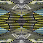 Photographic series of digital computer art from an image of <br /> colorful reflection of water on top of fountain of the AIDS Memorial.<br /> <br /> Two layers were used, first one mirrored and flipped to second one, to enhance, alter, manipulate the image, creating an abstract surrealistic mirrored symmetry.