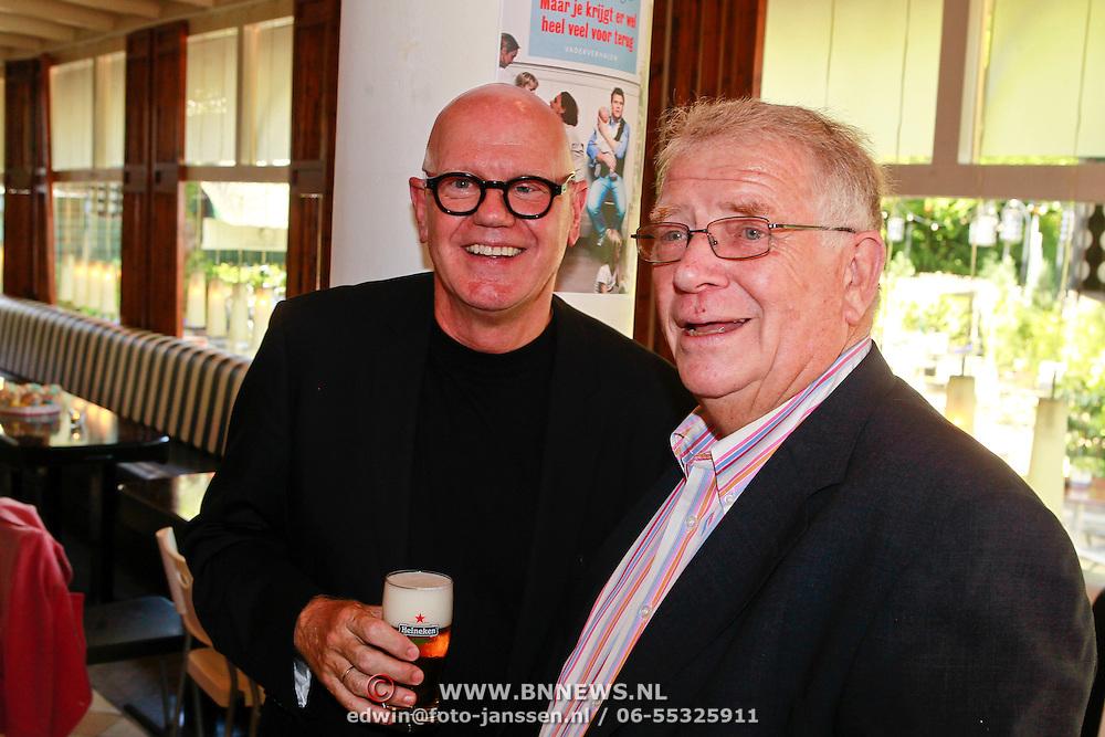 NLD/Amsterdam/20110608 - Boekpresentatie Bastiaan Ragas, beide vaders
