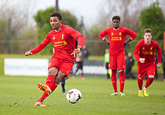 131207 Liverpool U18 v Man Utd U18