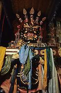 Mongolia.  tsam dance masks of mongolia / les masques de danses TSAM de Mongolie