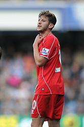 Liverpool's Adam Lallana - Photo mandatory by-line: Dougie Allward/JMP - Mobile: 07966 386802 - 19/10/2014 - SPORT - football - London - Loftus Road - QPR v Liverpool - Barclays Premier League