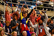 Fans during the ANZ Premiership Netball match, Tactix v Pulse, Horncastle Arena, Christchurch, New Zealand, 29th April 2019.Copyright photo: John Davidson / www.photosport.nz