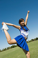 Cheerleader Stretching