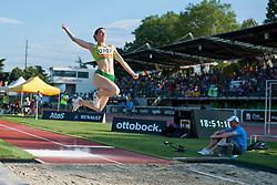 NORKUTE Gluosne, LTU, Long Jump, T12, 2013 IPC Athletics World Championships, Lyon, France