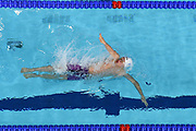 Stanislas Huille (FRA) competes on Men's 100 m Backstroke during the Swimming European Championships Glasgow 2018, at Tollcross International Swimming Centre, in Glasgow, Great Britain, Day 4, on August 5, 2018 - Photo Stephane Kempinaire / KMSP / ProSportsImages / DPPI