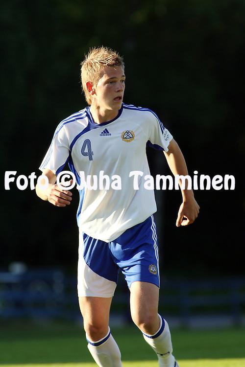 01.06.2007, Tehtaankentt?, Valkeakoski, Finland..Internationational friendly.Finland U-21 v England Conference U-23.Jonas Portin - Finland U-21.©Juha Tamminen.....ARK:k