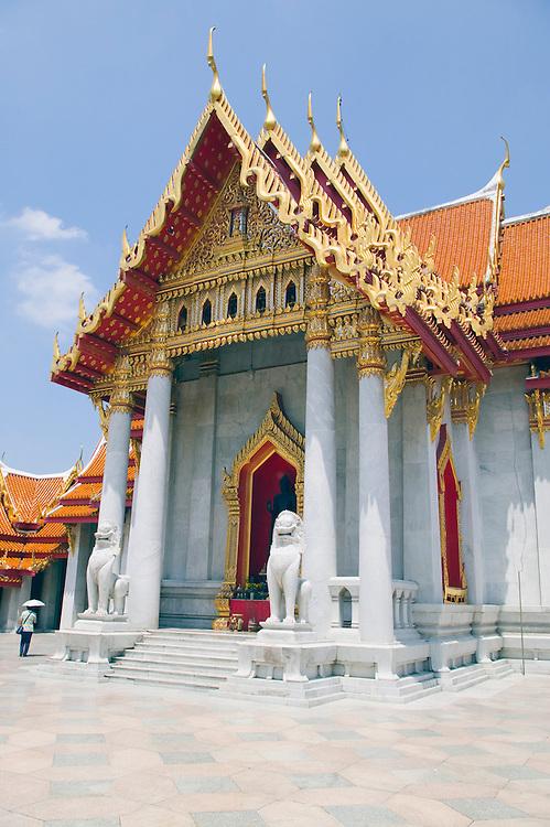 Marble Temple Wat Benchamabophit Bangkok Thailand&amp;#xA;<br />