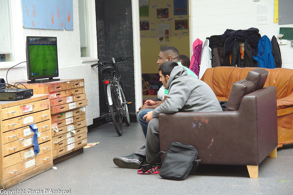 """One time at school, one of my friends we were playing football and after we went outside the pitch. Another person came up and said: """"What do you want to fight?""""and he answered: """"No, I am just trying to go home."""". And this person said: """"Oh, sure whatever. You are a nigger."""" June 2016."""