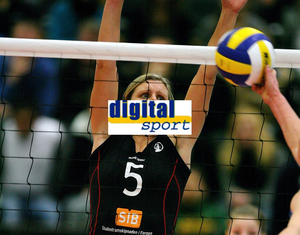 Volleyball , 6. janaur 2007 , NM-finale , Koll - BSI , <br /> Susanne Glesnes , BSI