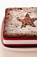 Christmas Cake close-up