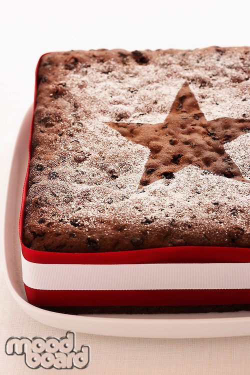 Christmas Cake close-up