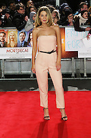 Olivia Newman-Young, Mortdecai - UK film premiere, Leicester Square, London UK, 19 January 2015, Photo by Richard Goldschmidt