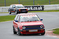 #9 Tim HARTLAND VW Golf GTi Mk2 during Teekay Couplings Mk2 Production Gti Championship - Race 4  as part of the BRSCC Oulton Park Season Opener at Oulton Park, Little Budworth, Cheshire, United Kingdom. April 09 2016. World Copyright Peter Taylor/PSP. Copy of publication required for printed pictures.  Every used picture is fee-liable. http://archive.petertaylor-photographic.co.uk