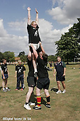 Wasps and london irish Rugby camp at Arborfield 2-8-06