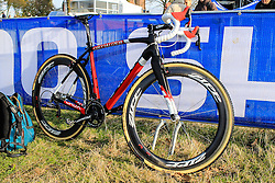 Zdenek Stybar, Specialized Bike :: Official Course Training UCI CX World Championships - Hoogerheide, The Netherlands - 30th January 2014