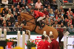 Schwizer, Pius, Picsou du Chene<br /> Leipzig - Partner Pferd<br /> Qualifikation Weltcup<br /> © www.sportfotos-lafrentz.de/Stefan Lafrentz