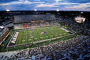 Sept. 4, 2010; Akron, OH, USA; A general view of InfoCision Stadium during the third quarter between the Akron Zips and the Syracuse Orange. Syracuse beat Akron 29-3. Mandatory Credit: Jason Miller-US PRESSWIRE