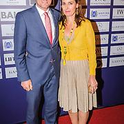 NLD/Amsterdam/20150904 - Laurensdiner 2015 Allstars, Prins Pieter Christiaan en partner prinses Anita van Eijk