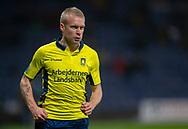 Johan Larsson (Brøndby IF) under kampen i 3F Superligaen mellem Brøndby IF og Hobro IK den 15. december 2019 på Brøndby Stadion (Foto: Claus Birch).