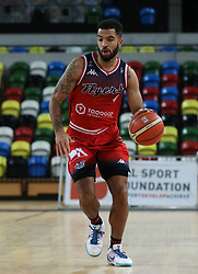 Lewis Champion of Bristol Flyers dribbles the ball - Photo mandatory by-line: Arron Gent/JMP - 20/11/2019 - BASKETBALL - Copper Box Arena - London, England - London Lions v Bristol Flyers - British Basketball League Cup