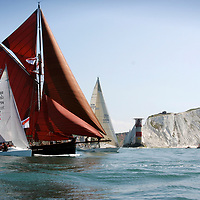 Jolie Brise, Round the island Race, 2005, Cowes, Isle of Wight, England,