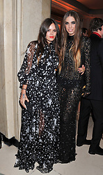 Left to right, ATLANTA NOO de CADENET TAYLOR and AMBER LE BON at the Harper's Bazaar Women of the Year Awards 2011 held at Claridge's, Brook Street, London on 7th November 2011.