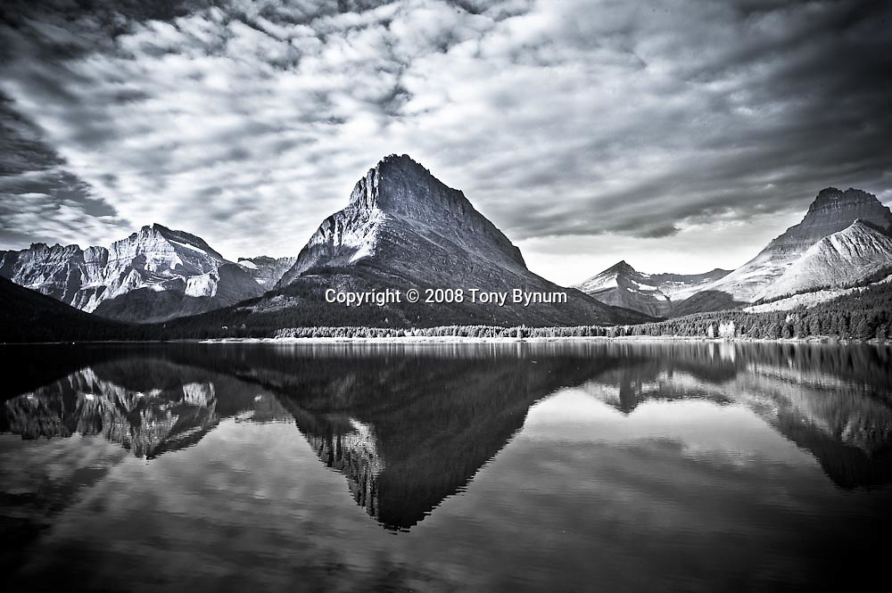 grinnell reflection, swiftcurrent lake