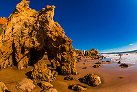El Matador State Beach, Malibu, California USA.