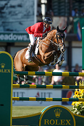 Lamaze Eric, (CAN), Fine Lady 5 <br /> BMO Nations Cup<br /> Spruce Meadows Masters - Calgary 2015<br /> © Hippo Foto - Dirk Caremans<br /> 13/09/15